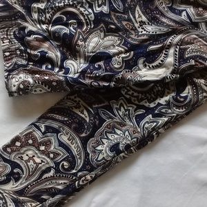 New! Soft light weight  leggings in Navy and brown